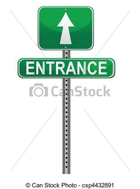 entrance clipart clipground