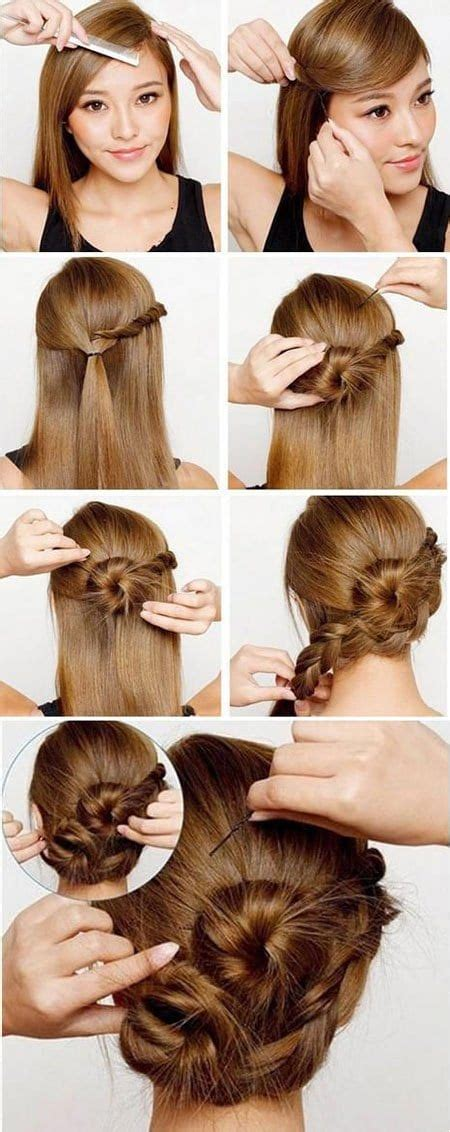 lazy girls hairstyle tips  tricks