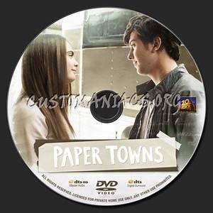 paper towns dvd label dvd covers labels by With dvd label paper