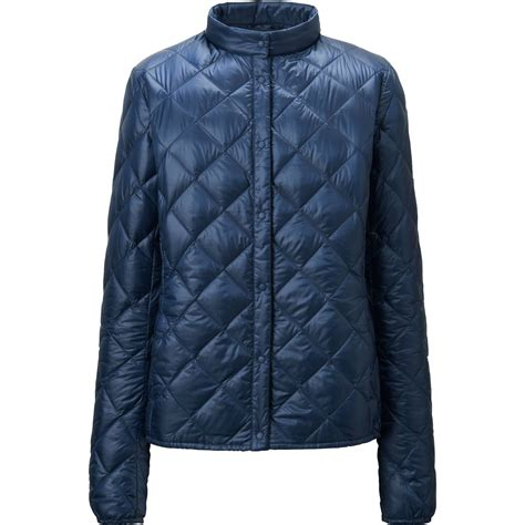 uniqlo jacket uniqlo ultra light compact quilted jacket in blue