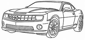 chevy camaro cars coloring pages   Transportation Coloring ...