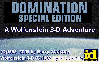 dominance special edition the wolfenstein 3 d dome the news jul aug 2002