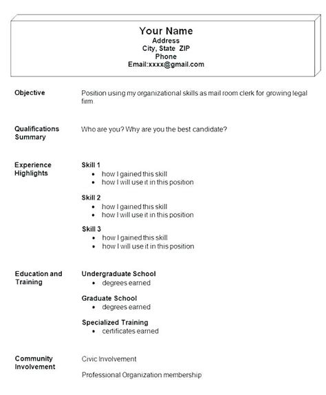 Resume Writing Templates Word by 10 11 Sle Resumes Lascazuelasphilly