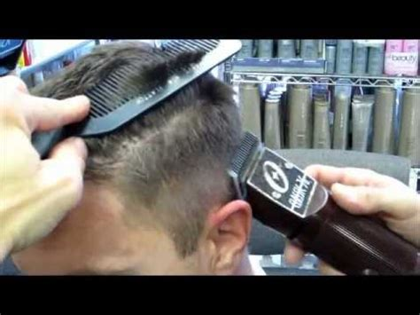 jasons fade  michaels hair  clippers cut part