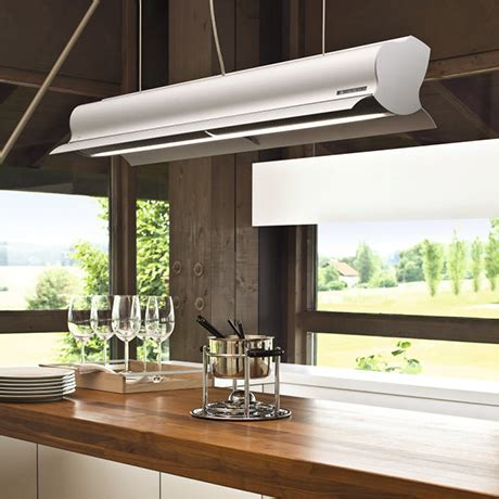 New Bulthaup mobile hood with wing canopy and fluorescent
