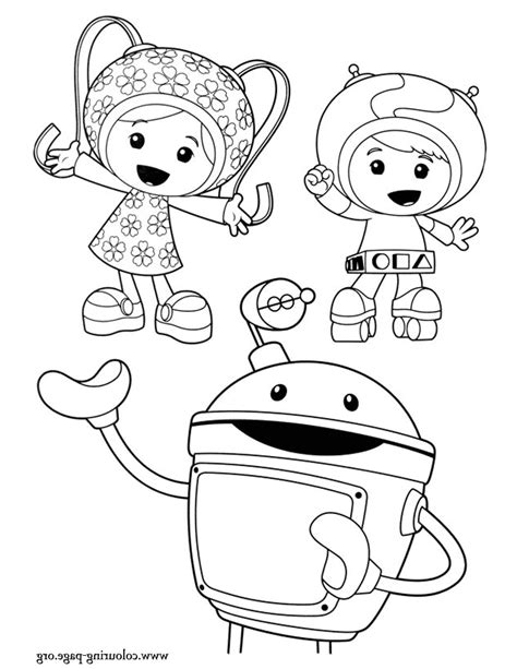 Coloring Umizoomi by Team Umizoomi Coloring Pages Coloring Pages