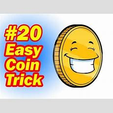 Easy Coin Trick  Simple Magic For Children  How To Do Magic Tricks With Coins Youtube