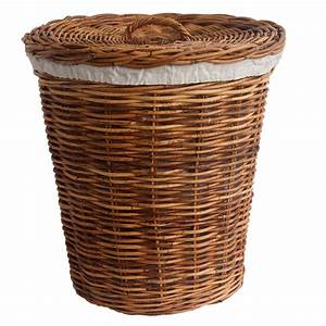 Laundry, Basket, With, Calico, Liner, In, 2, Sizes