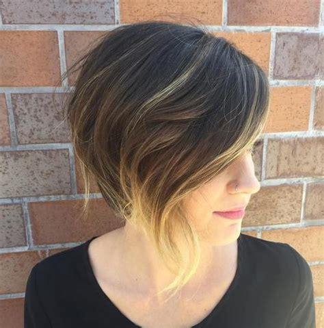 chic angled bob haircuts