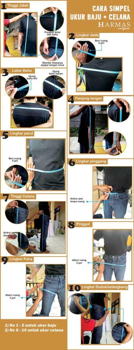 Gunakan satuan inchi pada meteran tersebut untuk mengukur lingkar pinggang (waist) celana contoh. Cara ukur seragam - Konveksi Seragam Kantor | Seragam kerja
