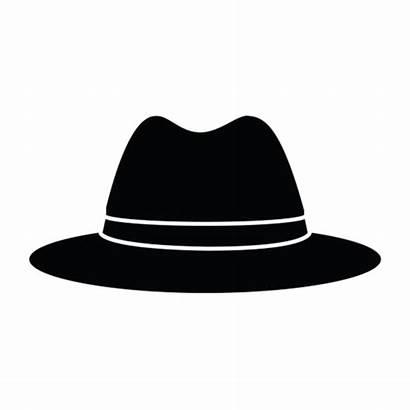 Sinatra Frank Fedora Silhouette Hat Transparent Clip