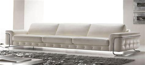 Italian Leather Sofa Stargate By Calia Maddalena