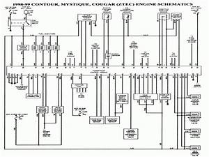 Solved  98 Ford Contour Wiring Diagram - Fixya