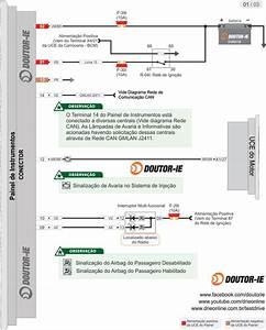 Diagrama El U00e9trico Do Painel De Instrumentos Do Chevrolet Captiva 2 4 16v