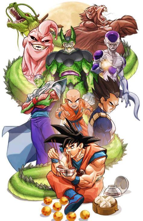 Anime Dragon Ball Dragon Ball By Miacabrera On Deviantart