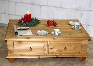 Couchtisch Kiefer Gelaugt Geölt : couchtisch truhentisch wohnzimmer tisch sofa holz kiefer massiv gelaugt ge lt ebay ~ Orissabook.com Haus und Dekorationen