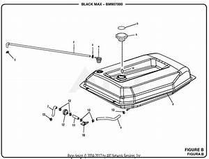 Homelite Bm907000a 7000 Watt Generator Parts Diagram For