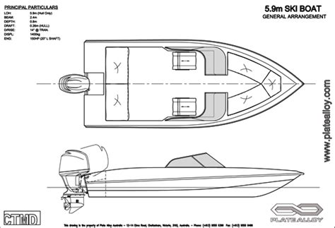 How To Draw A Ski Boat by Holy Boat Here Easy Layout Boat Plans