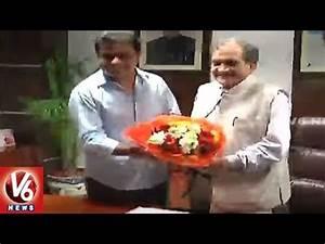KTR Meets Union Minister Birender Singh Over Bayyaram ...