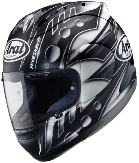 new haga and harada replica arai s for 2010 mcn