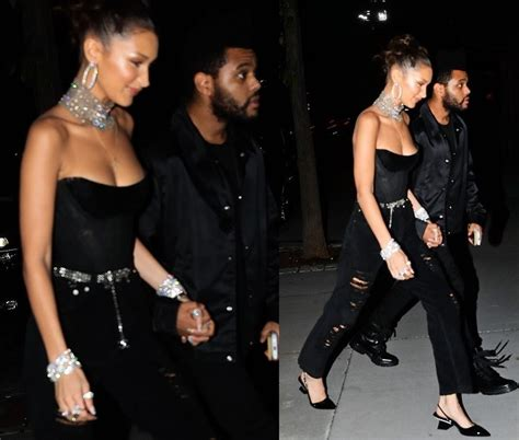 When posting unreleased music and you are not sure if it's actually the weeknd, do not title it as new music. Lovely photos of The Weeknd leading his girlfriend Bella ...