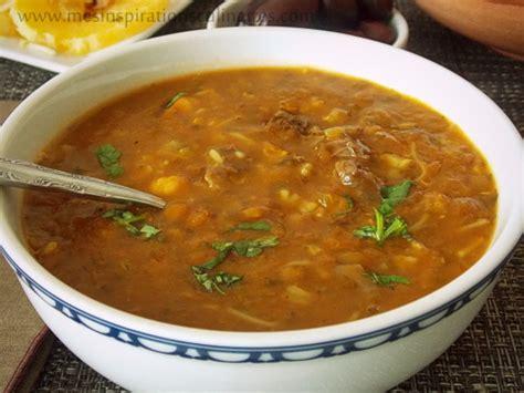 cuisine pour le ramadan soupe harira marocaine harira fassia le cuisine de