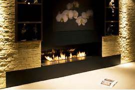 Bioethanol Fireplace Fuel Style Fantastic Bio Ethanol Fireplace Offering A Great Ribbon Style Fire