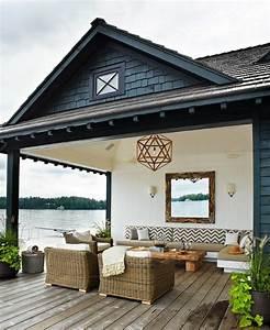 60 photos comment bien amenager sa terrasse verandas With idee deco exterieur maison 4 deco coin barbecue