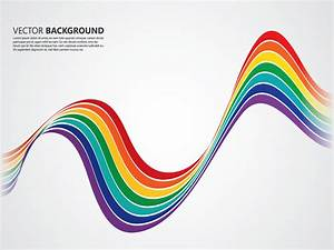 Rainbow Line Background Vector Art & Graphics | freevector.com