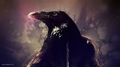 Raven Birds Artwork Desktop Wallpapers Backgrounds Mobile