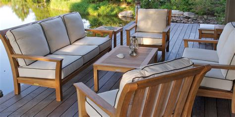 Wood Patio Furniture by Patio Outdoor Furniture Setups For A Renovated Outdoor
