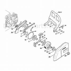 Stihl Ms 170 Chainsaw  Ms170  Parts Diagram  Chain Brake