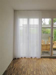 Blickdichte Vorhänge Verdunkelung : gardine store murten l ngsstreifen weiss ~ Indierocktalk.com Haus und Dekorationen