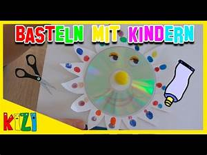 Mit Cds Basteln : fr hlingsbasteln mit kindern diy bastelideen i cd sonne selber basteln youtube ~ Frokenaadalensverden.com Haus und Dekorationen