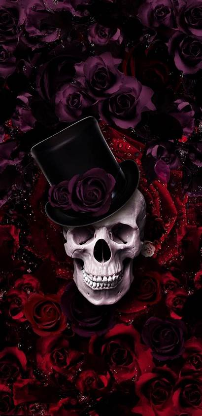 Caveira Spring Skull Sugar Iphone Preto Trendy
