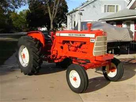 used farm tractors for sale allis chalmers d17 diesel