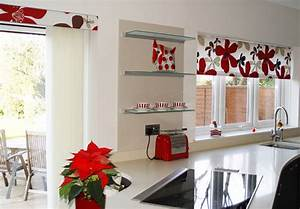 Modern kitchen curtains flowers going to modern kitchen for Modern kitchen curtains 2018