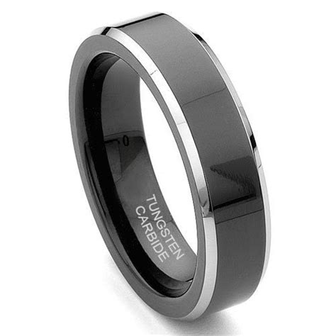 tungsten carbide mens wedding rings  abouth