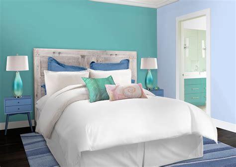 Peinture Bleu Pour Chambre Peinture Chambre Bleu Turquoise 6 Stunning Deco Chambres