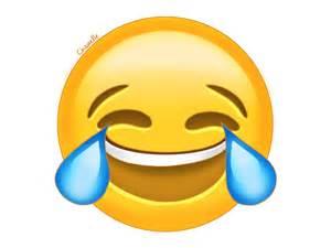 Transparent Laughing Emoji