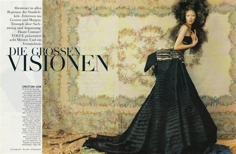 ASIAN MODELS BLOG Vintage Ling Tan Editorial For Vogue