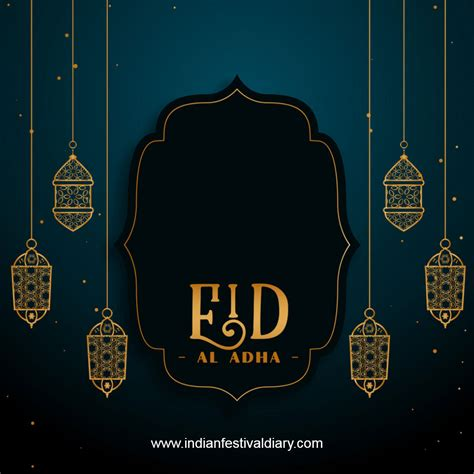 The day is marked by wearing new clothes and exchanging gifts (photo: Bakra Eid (Eid al-Adha) - Festival Greetings 2021 | Indian Festival Diary