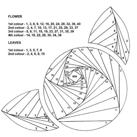 iris folding templates iris folding masterclass free card downloads papercraft digital craft crafts