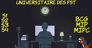 Cours De La 1 U00e9re Et 2 U00e9me Ann U00e9e Fst  Mip - Mipc