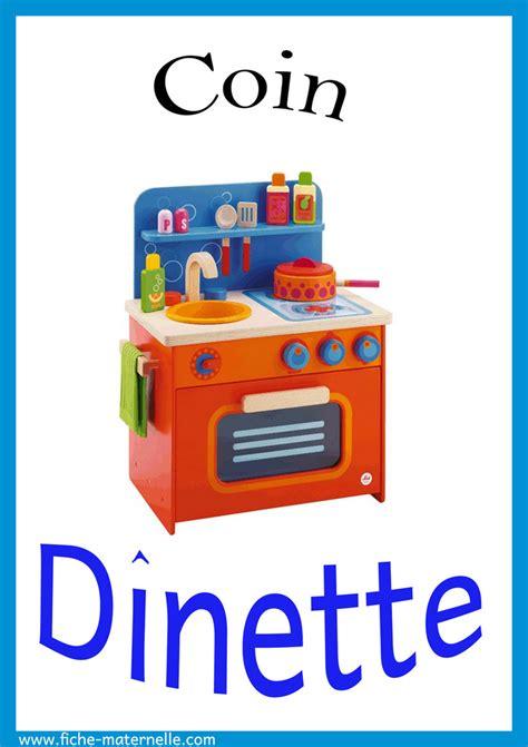 jeux de de cuisine coin cuisine maternelle affichage ustensiles de cuisine