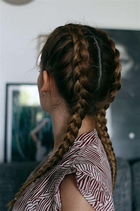 braids frisuren geflochtene haare haare