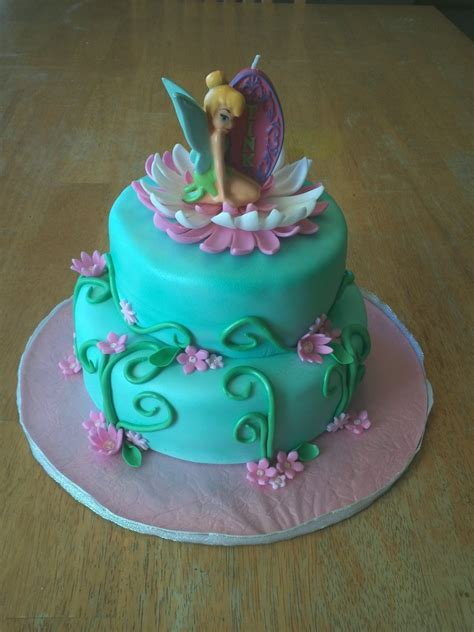 Tinkerbell Cakes  Decoration Ideas  Little Birthday Cakes