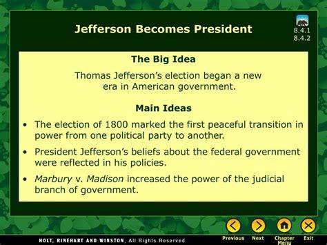 jefferson  president powerpoint