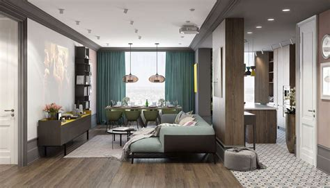 home interior colour a pair of modern homes with distinctively bright color themes