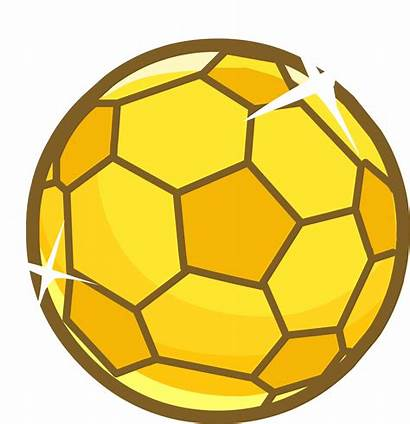 Soccer Ball Golden Football Transparent Clipart Wikia
